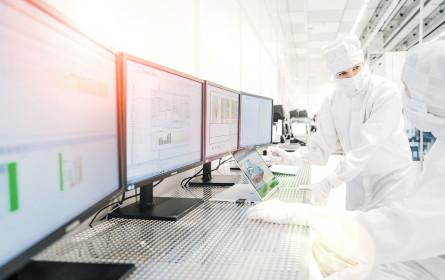 Industriestandort mit Reinraum-Ambitionen