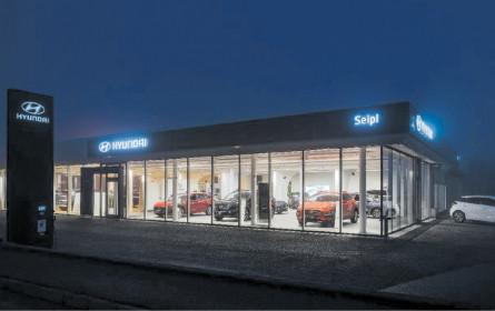 Autohaus Seipl eröffnet neuen Schauraum