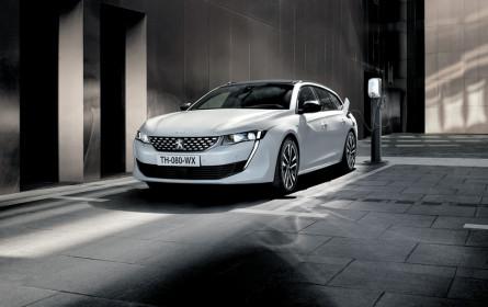 Peugeot setzt auf Plug-in-Hybride