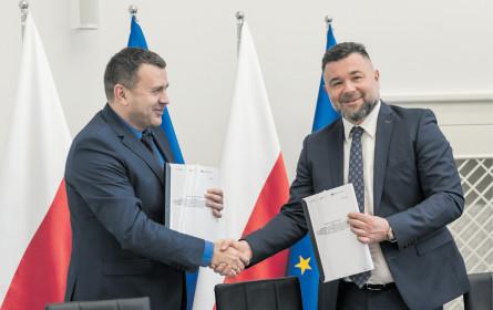 Porr schafft Bahn in Polen