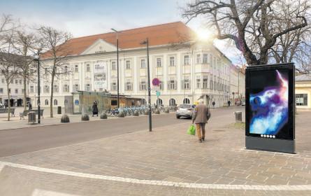 Gewista digitalisiert Bregenz und Klagenfurt