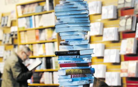 Buchhändler stellen zu
