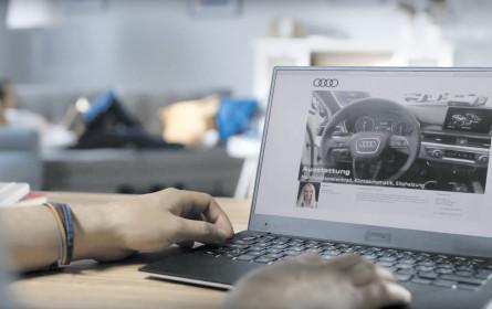 Audi setzt auf Online