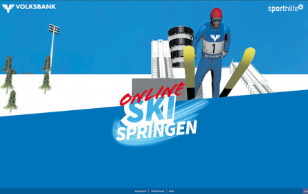 Online Skisprung-Game