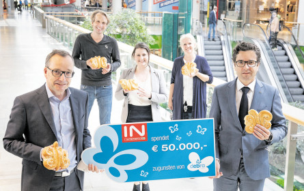 Interspar spendet 50.000 Euro
