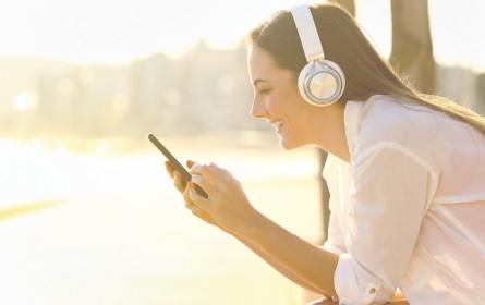 Wachstum an Radio-Hörern