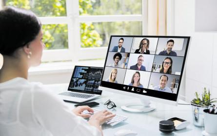 Digitales Meeting