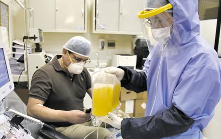 Covid-19: Blutplasma soll helfen – Aufruf zu Spende