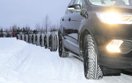 Winterreifen-Test