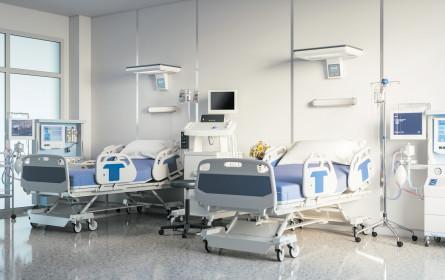 Spitalsbetten wurden seit 2000 massiv abgebaut
