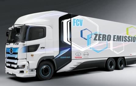 Brennstoffzellen-Lkw-Test