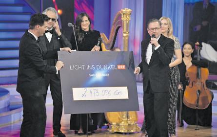 Erfolgreicher Abend im ORF
