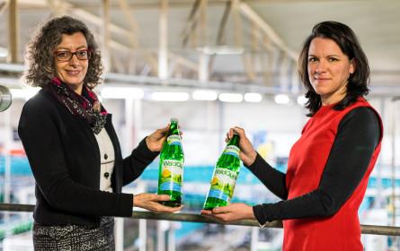 100 Jahre Burgenland mit Waldquelle Mineralwasser feiern
