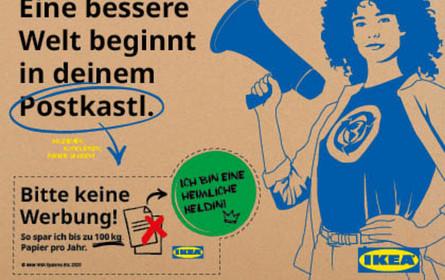 """""""Eine bessere Welt beginnt in deinem Postkastl"""""""