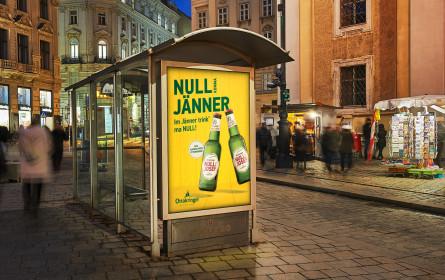 "Ottakringer macht den Jänner zum ""Null Komma Jänner"""