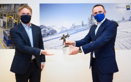 """Niederösterreich Werbung erhält bronzenen """"Kurier Werbe-Amor"""""""