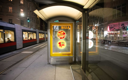 Billa ist First Mover der HoloCircle-Technologie von Gewista