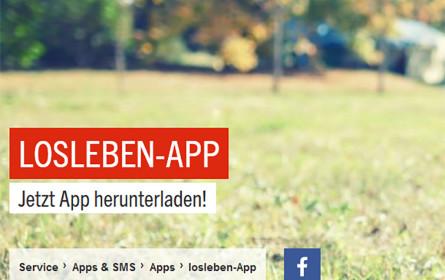 Zeit sparen und #losleben – die neue App macht's möglich