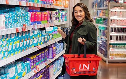 Spar senkt Preise auf Binden, Tampons & Co
