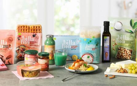 """""""Billa Bio"""" – Billa bringt neue Bio-Eigenmarke ins Regal"""