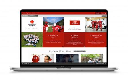 Website des Österreichischen Roten Kreuzes optimiert