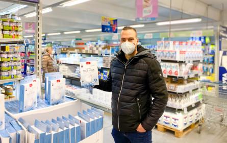 """Neu im Metro-Sortiment: FFP2-Masken """"Made in Austria"""""""