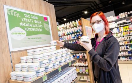Grüne Etiketten für nachhaltige Bipa-Produkte