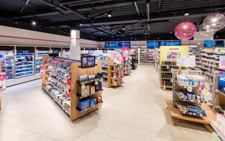 Bipa-Filiale in der Grazer Lauzilgasse überzeugt mit neuem Shop-Design