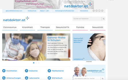Burda erwirbt Netdoktor-Gesundheitsportale in Österreich und Schweiz