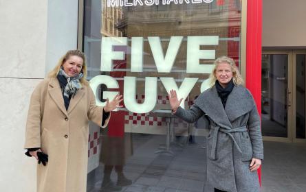 """Grayling launcht Burgerkette """"Five Guys"""" in Österreich"""