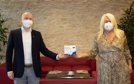 Lidl Österreich spendet 10.000 FFP2-Masken an Pro Juventute