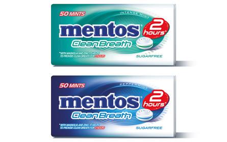 Der neue Atemerfrischer heißt mentos Clean Breath