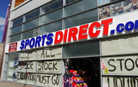 Diskonter Sports Direct schrumpfte in Österreich weiter zusammen