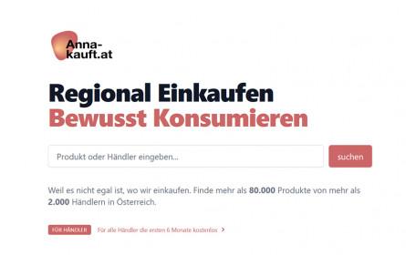 Handelsverband beteiligt sich an regionaler Suchmaschine anna-kauft.at
