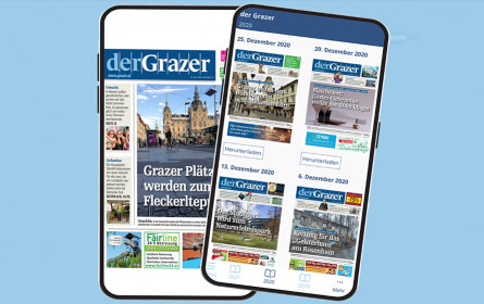 """""""der Grazer"""" ist jetzt auch digitale Tageszeitung"""