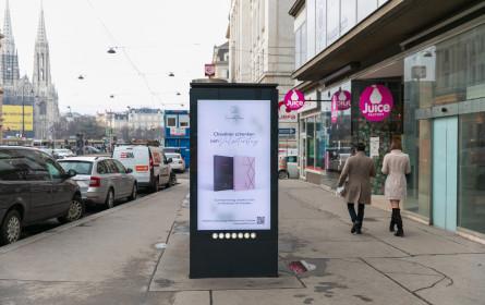 Xaraktiras inszeniert den Valentinstag auf digitalen Screens von Gewista