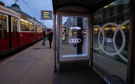 Audi setzt auf Gewista HoloCircle-Technologie