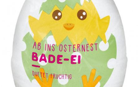 Ein Bipa-Fixstarter im Osternest: Das BI Kids Bade-Ei ist wieder da