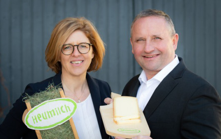 Heumilch-Produkte im Krisenjahr 2020 auf Rekordniveau