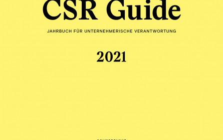 CSR Guide 2021: Nachhaltigkeit, bewusster Konsum und Corona