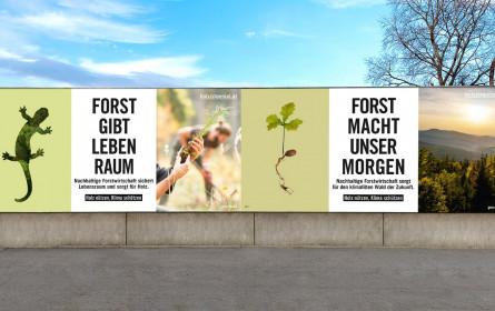 proHolz Austria wirbt mit Epamedia für Holzverwendung und Klimaschutz