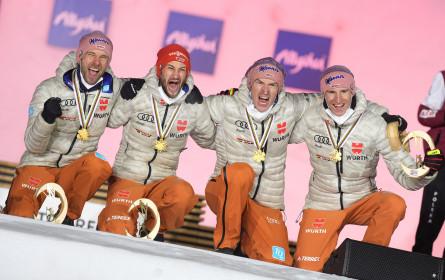 3,231 Millionen sahen Nordische Ski-WM in Oberstdorf im ORF