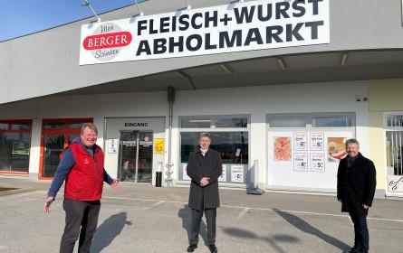 Berger Schinken eröffnete Abholmarkt in Wetzelsdorf/Poysdorf