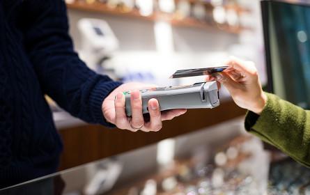 Kartenzahlung boomt