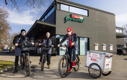 E-Bikes im Wert von über 10.000 Euro für Fahrrad-Zustelldienst