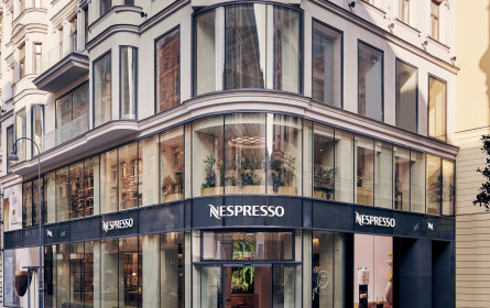 """Ein Einkaufserlebnis """"für alle Sinne"""": Nespresso Atelier Wien eröffnet auf der Kärntner Straße"""