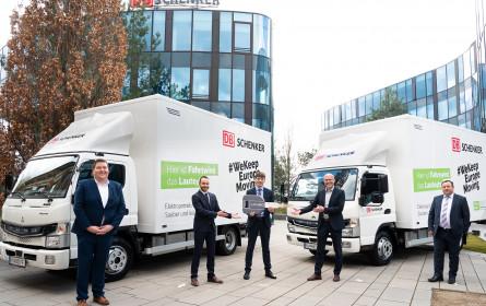DB Schenker realisiert CO2-freie City-Logistik in Wien