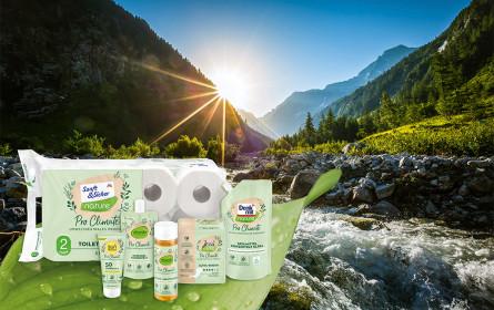 dm entwickelt mit Pro Climate erstmals umweltneutrale Produkte