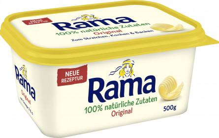 Die neue Rama: Jetzt mit 100% natürlichen Zutaten