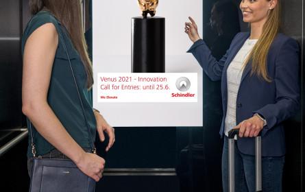 """Schindler: Sponsor der CCA-Venus 2021, Kategorie """"Innovation"""""""